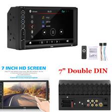 "7"" 2 Din Bluetooth Car Stereo Radio Player Head Unit MP5/USB/Aux In/Mirror Link"