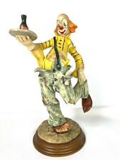 "Dante by Ado for Creative World Waiter Clown Statue 12-1/2"" Tall Resin 189/5000"