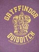 HARRY POTTER - GRYFFINDOR QUIDDITCH - XL RED T-SHIRT - B1807
