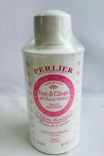 PERLIER CHERRY BLOSSOMS VELVETY TALCUM POWDER, 3.5 oz.   Sealed!