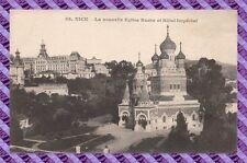 CPA 06 - NICE - la nouvelle eglise Russe et hotel imperial
