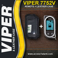 Viper 7752V 2-Way LCD Remote Control And Leather Case Combo For The Viper 5704V