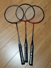 Victory Badminton Rackets Tempered Shaft - Lot Of 3