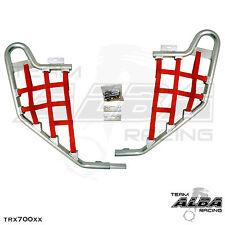 TRX 700XX  Honda   Nerf Bars  Alba Racing      Silver bar Red nets 233 T1 SR