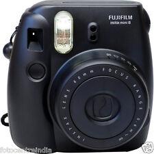 FujiFilm Instax Mini 8 Instant Film Camera, Built-In Flash, 20 Sheets FREE BLACK