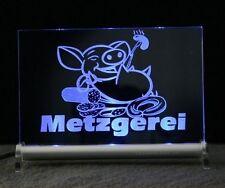 Metzgerei LED Leuchtschild  Leuchtreklame - technologs