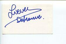 Lieven Debrauwer Belgium Director Pauline and Paulette Signed Autograph