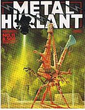 METAL HURLANT N° 11 BILAL DRUILLET MOEBIUS 1976 TRES BON ETAT