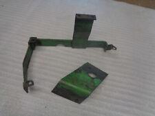 John Deere 420 Crawler Dozer Oil Reservior Valve Support Brackets