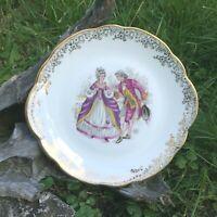 1 Plat à Dessert Porcelaine de Chauvigny  FD