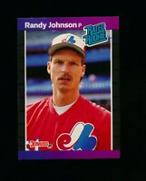 Randy Johnson RC ⚾ 1989 Donruss #42 Rated Rookie Expos Mariners NM-MT