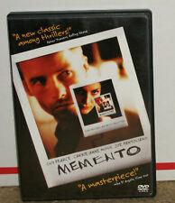 Memento DVD With Insert