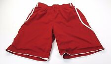 *Adidas* Size M (32/34) Men'S Red Lined Athletic Work Out Shorts