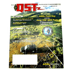 QST HAM/Amateur Radio ARRL MAGAZINE - JUNE 2010 YAESU FT-250R 270R Dipoles Keyer