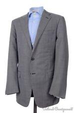 NEW - HICKEY FREEMAN Current Gray Box Tic Wool Blazer Sport Coat Jacket - 42 L