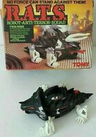 Vintage Tomy Twin-Horn R.A.T.S. Robot Anti Terror Squad Incomplete - Boxed