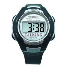 VISIOYO English Talking Speaking Watch Digital Timer blind elderly Alarm 697TE