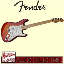 Fender Stratocaster deluxe HSS Plus Top iOS MN ACB E-Gitarre