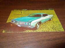 1968 Buick Le Sabre Custom 4-Door HardtopVintage Advertising Postcard