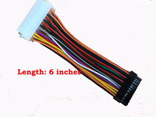 "5 Pcs 6"" ATX 20 Pin PSU to HP SLIMLINE Mini 24 Pin Converter Adapter Cable"