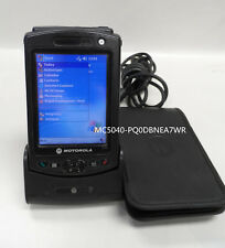 Motorola Symbol Pocket PC Barcode Scanner MC50 MC5040 - PQ0DBNEA7WR w/cradle
