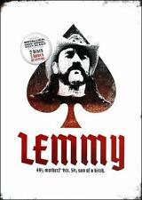 Lemmy: 49% Motherfker, 51% Son Of A Bitch, New DVDs