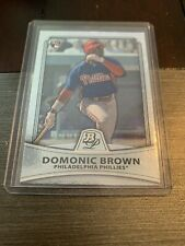 2010 Bowman Platinum Baseball #6 Domonic Brown RC MLB Rookie Mint Free Ship