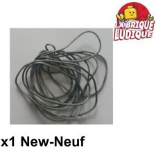 Lego 1x String ficelle Cord Medium Thickness 150cm gris f/d b gray x77cc150 NEW