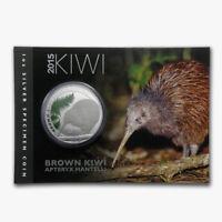 Neuseeland Kiwi - 2015 - Silber $1  Munzen- 1 OZ Brown Kiwi !!!