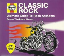 CLASSIC ROCK ULTIMATE GUIDE TO ROCK ANTHEMS HAYNES 2 CD BOX SET MEAT LOAF & MORE