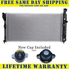 Radiator With Cap For Chevy Fits Impala Mt Carlo Century Regal 2343WC