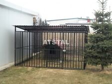 Hundezwinger 2x2 Hundekäfig Zwinger aus Rohrsrtäben +Aufbau NEU Käfig