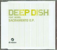 Deep Dish - Sacramento Ep (Feat Morel) 7 Tracks Rare Cd Perfetto Spedito in 48 H