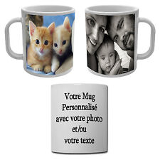 Mug Tasse personnalisée avec votre image ou votre photo pour un cadeau unique