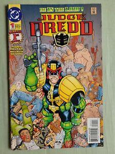 Judge Dredd Vol. 2 #1