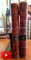 Rhetoric lectures Belles Lettres 1802 Hugh Blair 2 vol set period full leather