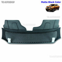 Black Net Front Grill Grille Fits Nissan Frontier Navara D23 Np300 2015 2016 17