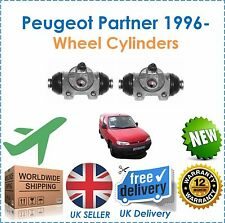 For Peugeot Partner Van Combo MPV 1996- 2 Rear Wheel Cylinders New OE Quality