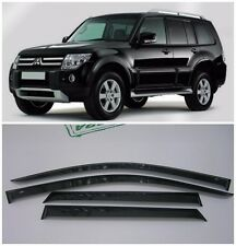 For Mitsubishi Pajero 5d 1999-2017 Window Visors Sun Rain Guard Vent Deflectors