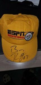 BEN ROETHLISBERGER AUTOGRAPHED PITTSBURGH STEELERS ESPN Hat 2005 TRAINING CAMP