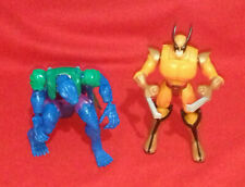 Marvel Shape Shifters - Wolverine and The Lizard - Transformer Action Figures