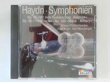 CD Joseph Haydn Symphonie Nr 94 96 100 Wiener Philharmoniker Josef Krips