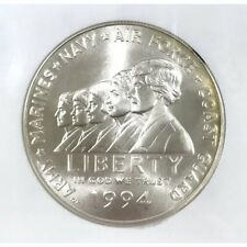 1994 W Women Veterans Dollar NGC MS70 000556