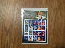 Disney Villains 1 Sheet of 20 USPS First Class Forever Postage Stamps
