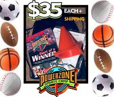 PowerZone Sports Camp - VBS Vacation Bible School Kit FCA USE FOR 2019!
