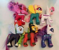 "My Little Pony 6"" Power Pony Superhero Lot of 6 Loose Target Exclusive Ponies"