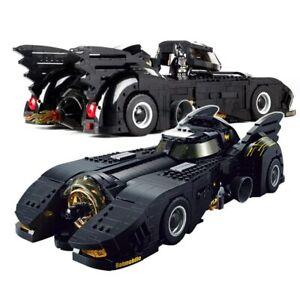 Batmobile 76139 Voiture Super Hero Batman Joker Equivalent Lego Complet Neuf FR