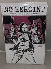 NO HEROINE #1 Cover A Source Point Press First Printing Frank Gogol