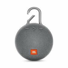 JBL Clip 3 Portable Bluetooth Speaker - Gray