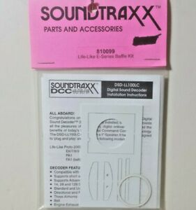 SoundTraxx Part # 678-810099 Life Like E-Series Baffle Kit Kit Model Railroad